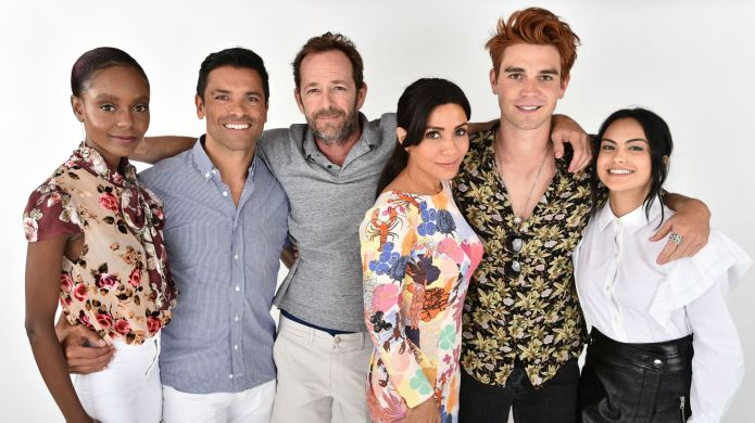 Photo of Luke Perry and Riverdale