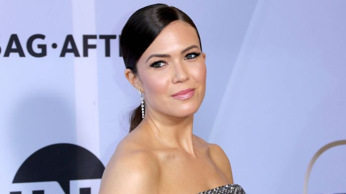 Mandy Moore arrives at the 25th