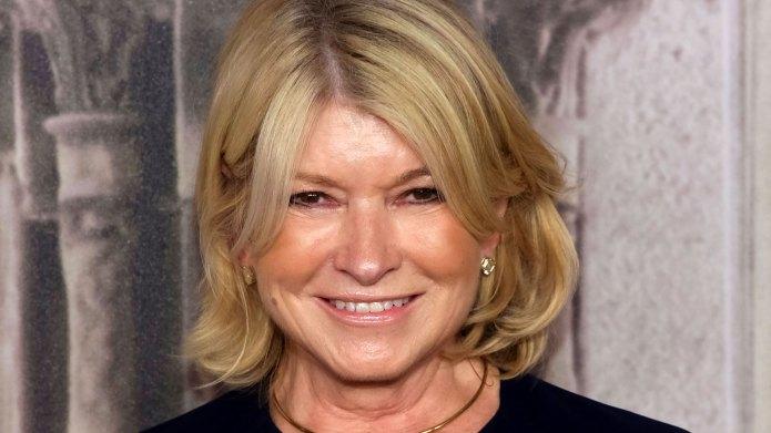 Martha Stewart Says We Should Be