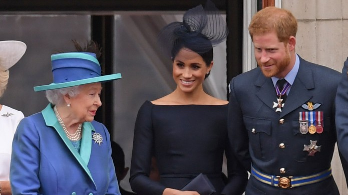 Queen Elizabeth, Meghan Markle and Prince