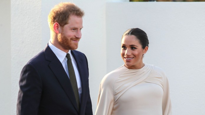 Meghan Markle and Prince Harry in