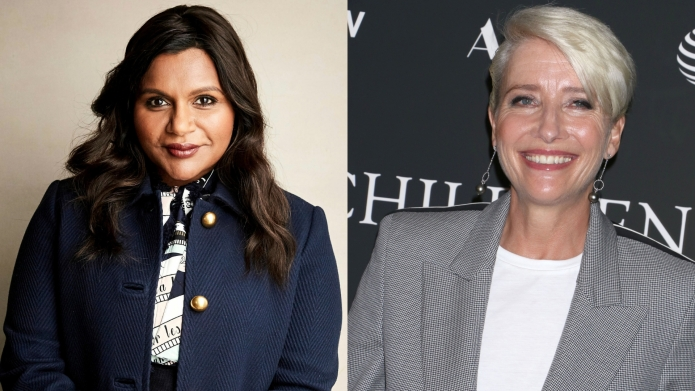 Mindy Kaling and Emma Thompson costar