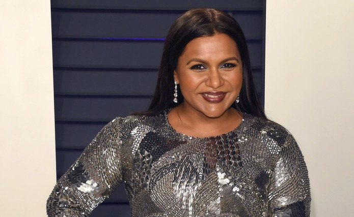 Mindy Kaling arrives at the 2019