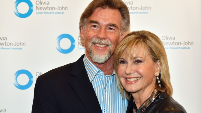 John Easterling and Olivia Newton-John attends