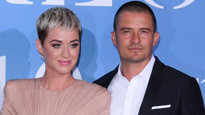 Katy Perry and Orlando Bloom at