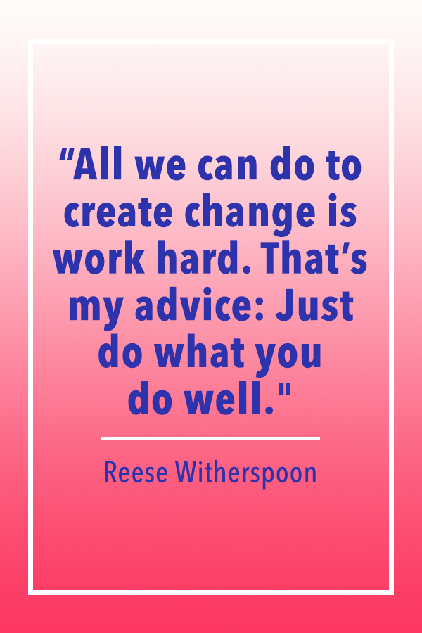 Reese Witherspoon create change quote card