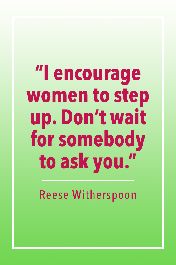 Reese Witherspoon encourage women quote card