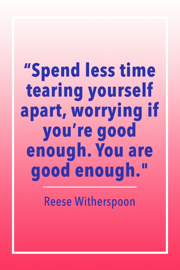 Reese Witherspoon less time quote card