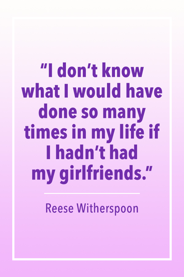 Reese Witherspoon my girlfriends quote card