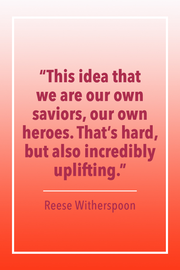 Reese Witherspoon own saviors quote card