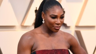 Serena Williams at the 2019 Oscars