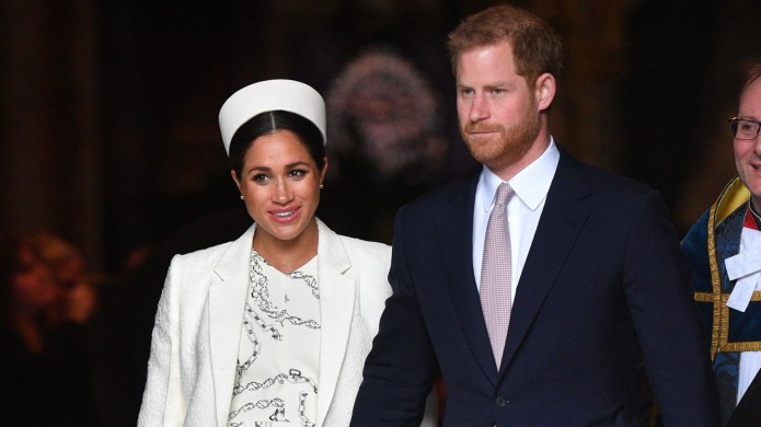 Prince Harry and Meghan Markle at