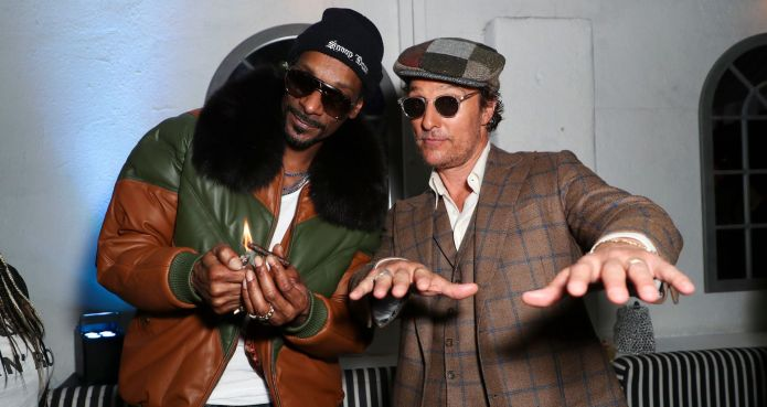 Snoop Dogg and Matthew McConaughey attend