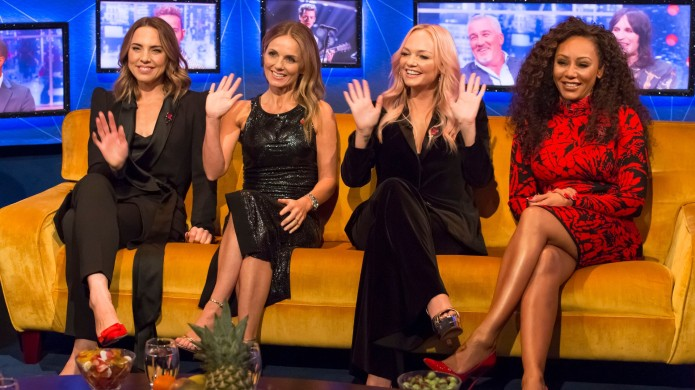 Spice Girls' Mel B Says She & Geri Halliwell Hooked Up Once