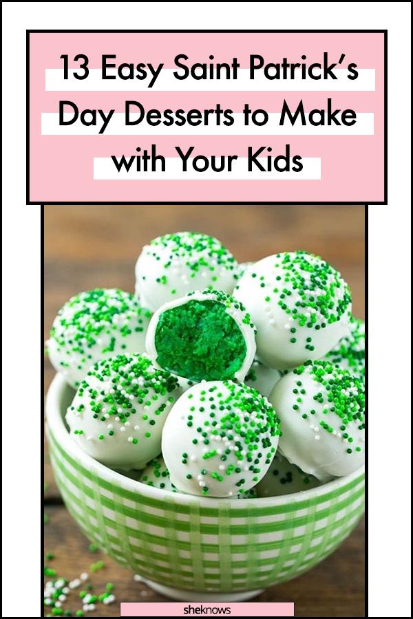 Saint Patrick's Day Desserts