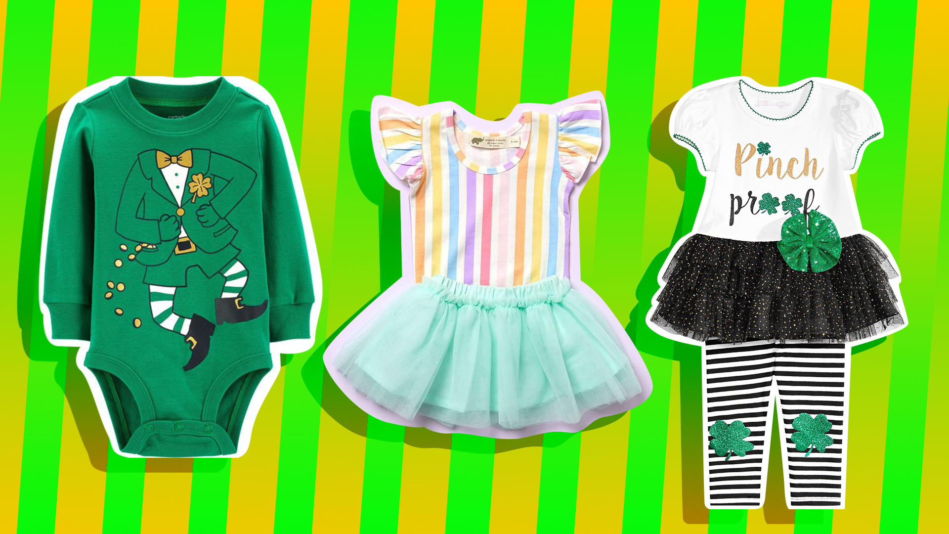 ec8e71c7d Cutest St. Patrick's Day Outfits for Kids: Shamrock T-Shirts & More ...