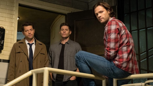 Still of cast of 'Supernatural' on The CW