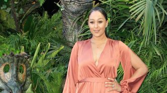 Tamera Mowry-Housley arrives at the premiere