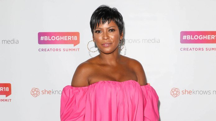 Tamron Hall's 'Baby Shark' Pregnancy Announcement at 32 Weeks Is a Hit With Celebs