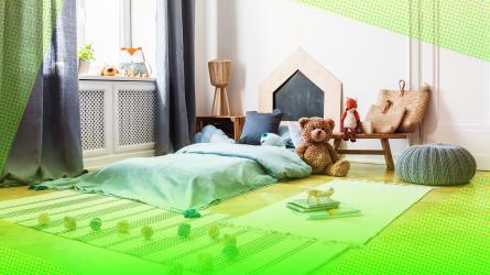 Toy minimalism kids room