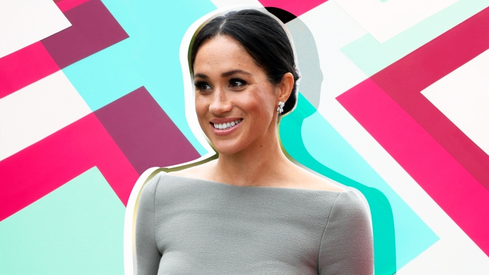 Meghan Markle third trimester
