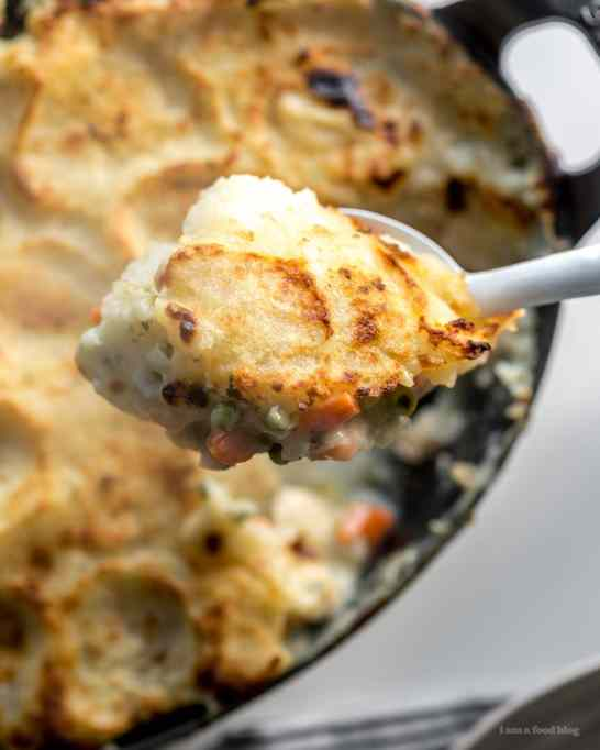 Potato-Topped Turkey Potpie Casserole
