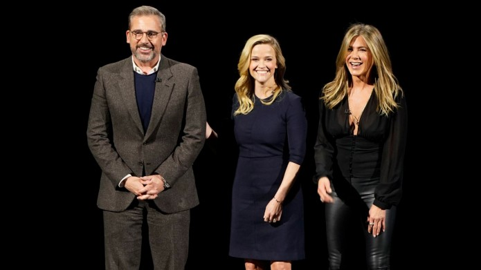 Reese Witherspoon & Jennifer Aniston Preview Their New TV Show at the Latest Apple Event