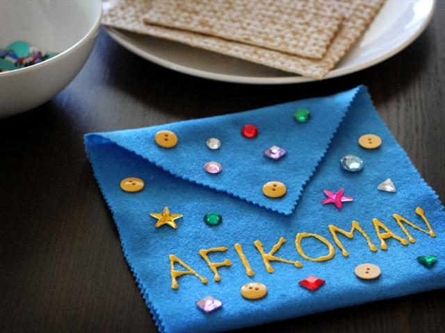 afikomen-bag-craft-for-kids