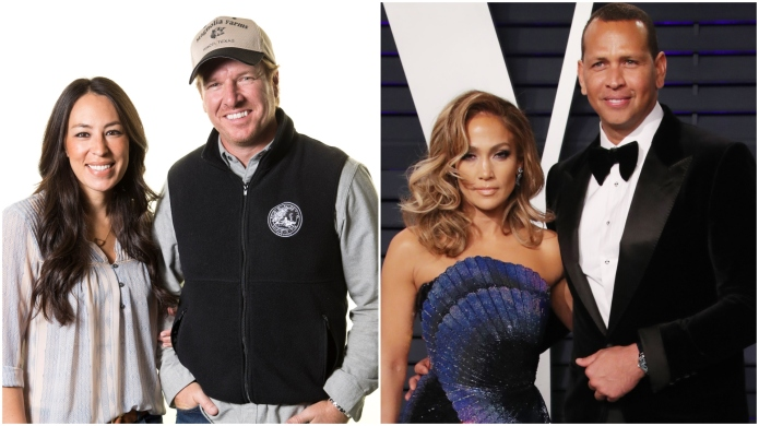 Chip and Joanna Gaines; Jennifer Lopez