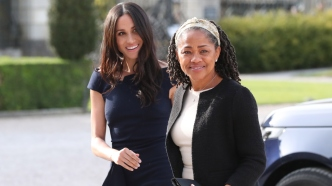 doria ragland and meghan markle ahead