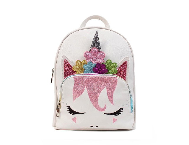 Flower-Unicorn-Queen-Mini-Backpack-Unicorn-Accessories-for-Kids