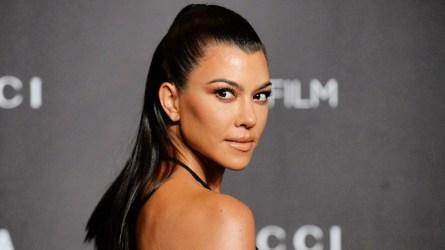 Kourtney Kardashian at LACMA in Los