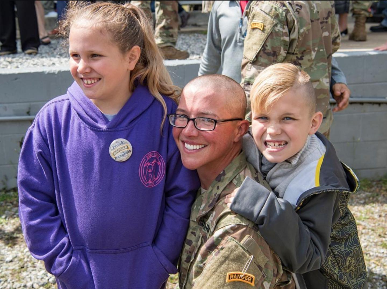 Army Lieutenant Emily Lilly