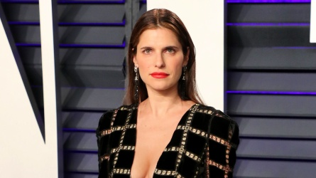 Lake Bell at Vanity Fair Red