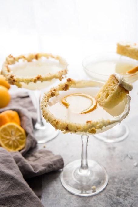 Lemon Cake Martini