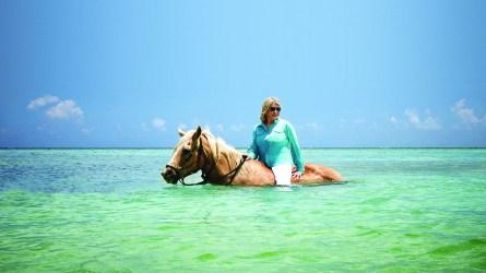 Martha Stewart Ocean Horseback Riding