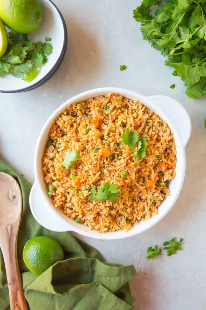 Paleo Recipes: Mexican Cauliflower Rice