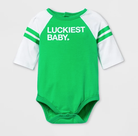 """Luckiest baby"" onesie: What Your Kid's T-Shirts Say About You"