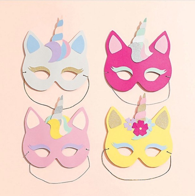 Unicorn-Masks-Unicorn-Accessories-for-Kids