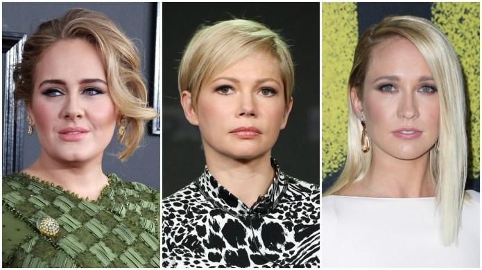 Adele, Michelle Williams & Anna Camp