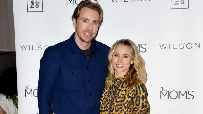 Kristen Bell and Dax Shepard at