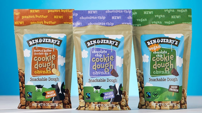 Ben & Jerry's new snackable cookie