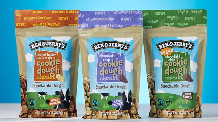 Ben & Jerry's new snackable cookie