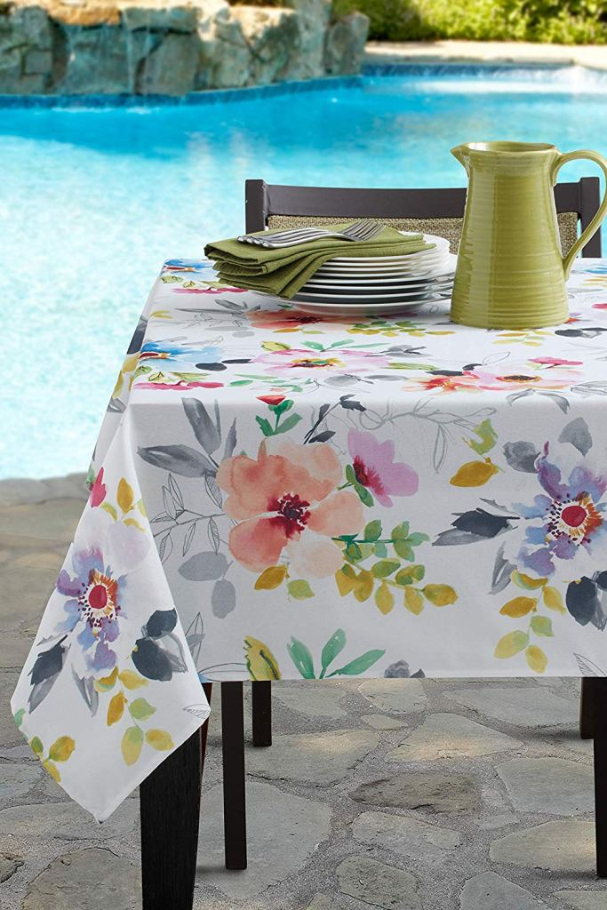 Amazon Summer Party Decor: Benson Mills floral tablecloth