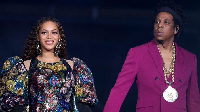 Beyonce and Jay-Z at Global Citizen