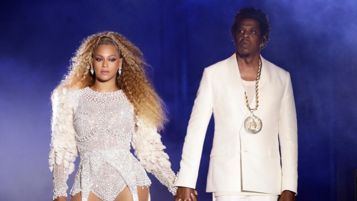 Beyonce and Jay-Z in concert, 'On