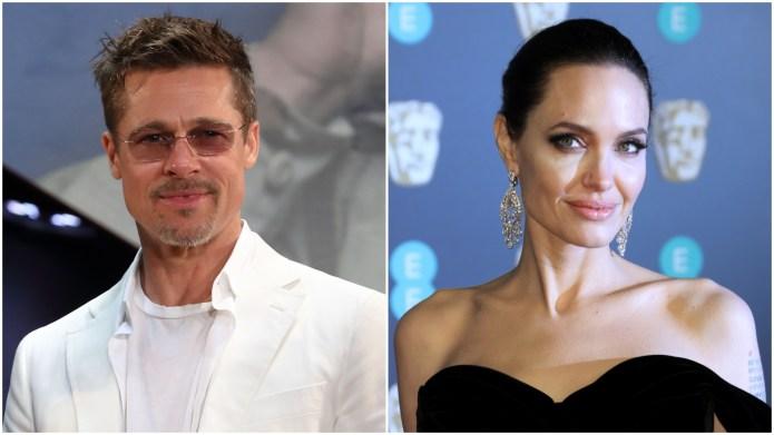 Brad Pitt, Angelina Jolie.