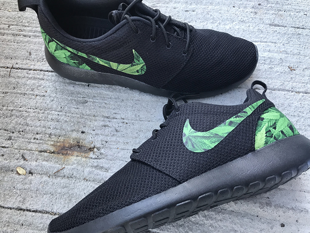Gifts for Pot-Smoking Moms: Cannabis Custom Nike Roshe One