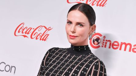 Charlize Theron arrives at the Big