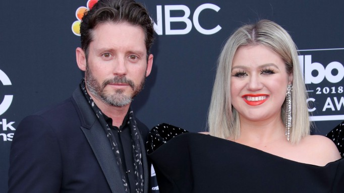 Brandon Blackstock and Kelly Clarkson and the 2018 Billboard Music Awards